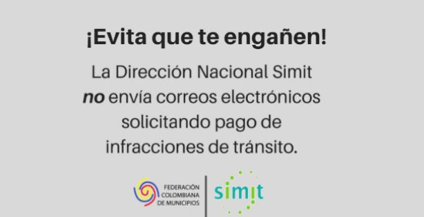 SIMIT estafas en correos